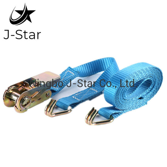 All Type 100% Polyester Webbing Ratchet Tie Down Cargo Lashing Belts Endless