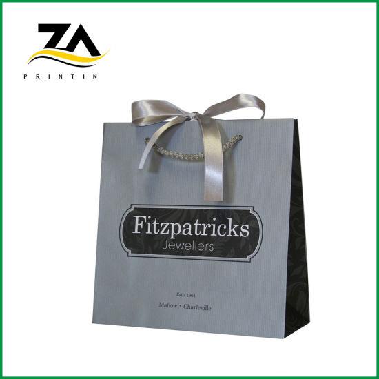 Custom Newest Design Top Quality Make up Paper Bag