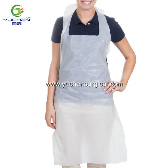 Wholesale Disposable Cheap Colorful PE Plastic Apron pictures & photos