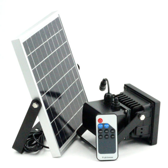 China Remote Control Ip65 Led Lamp Solar Flood Light For Home