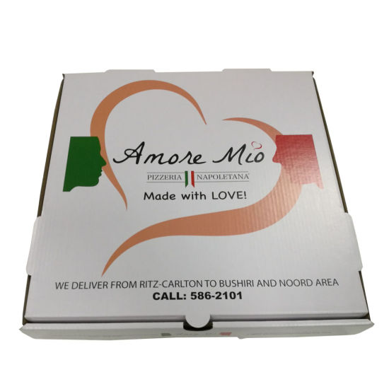 Custom Design Cheap Price Corrugated Pizza Box pictures & photos