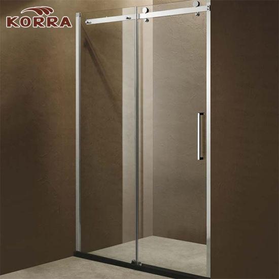China Shower Enclosure with Sliding Door Big Roller - China Shower ...