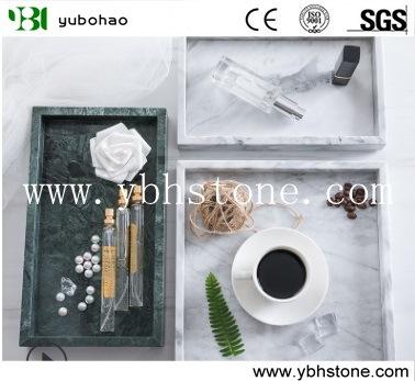 Honed Kitchen Marble Tray