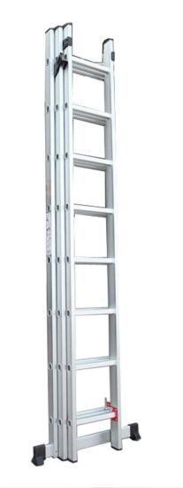 Smart Design for 3 Section Step Ladder pictures & photos