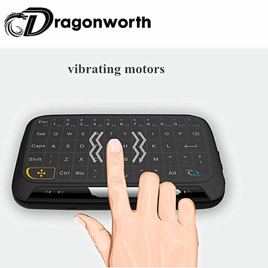 H18 Mini Wireless Keyboard Keyboard Shenzhen 2.4GHz Wirelesswith 2.4GHz RF pictures & photos