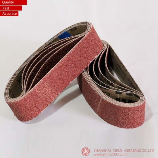 Top Quality Wooden Diamond Abrasive Belt Manufacturer pictures & photos