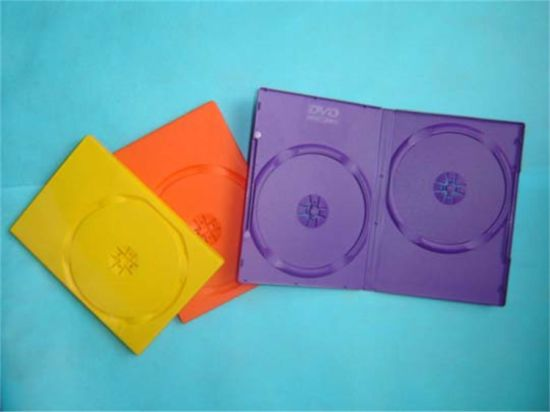 DVD Case DVD Box DVD Cover 14mm Double Clour (YP-D802Y) pictures & photos