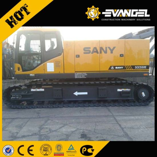 Sany 55 Ton Telescopic Crawler Crane (SCC550TB) pictures & photos
