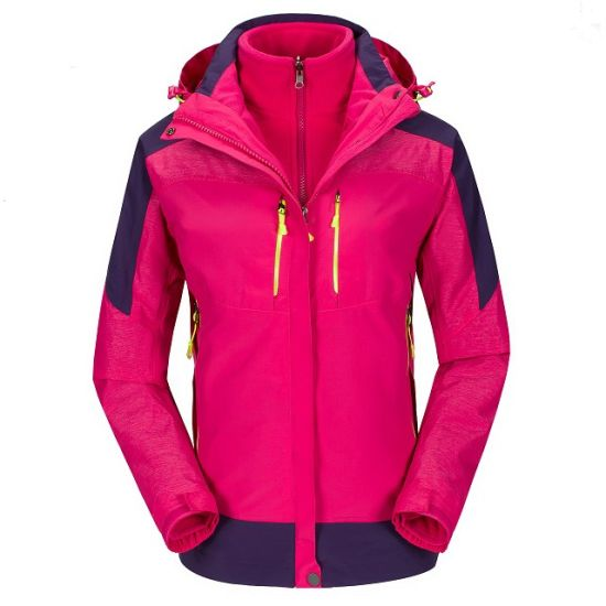Highest Quality Winter Thick Outdoor Jacket with Polar Fleece pictures & photos