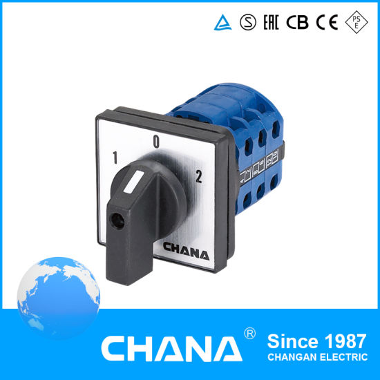 Ce and RoHS Approved Lw26 Series 32A Rotary Switch