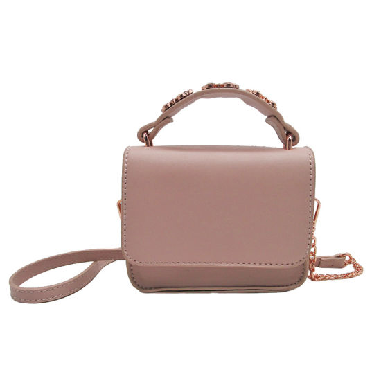 Fashionable Mini Tote Bags Shoulder Bags Designs for Fashion Lady and Child  Luxury Collections Chain Pink Portable Mini Designer Ladies PU Leather  Shoulder ... 70d12cc1636a0