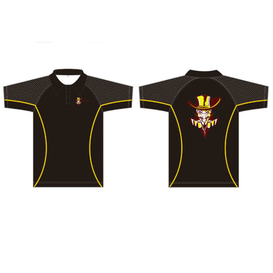 Custom Polo Shirt with Sublimation Print