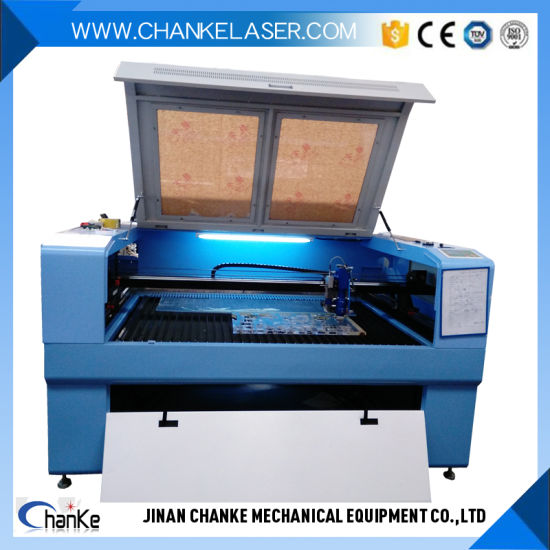 Plywood Laser Metal Cutting Machine Price with 130W/150W Reci Tube pictures & photos