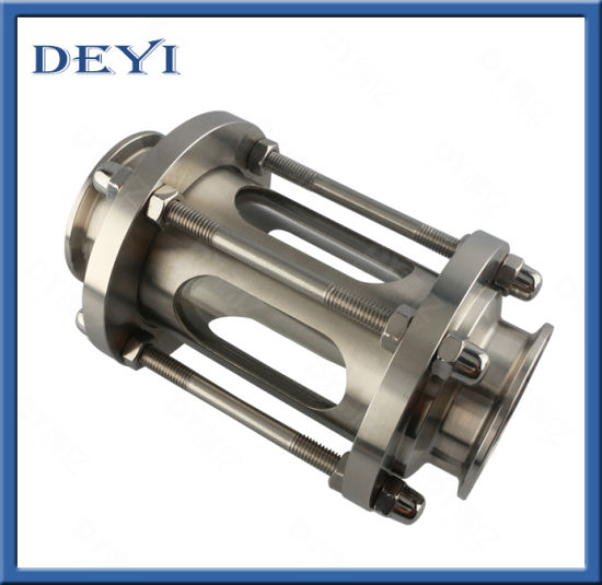 Sanitary Stainless Steel Clamped Sight Glass (DY-SF806) pictures & photos