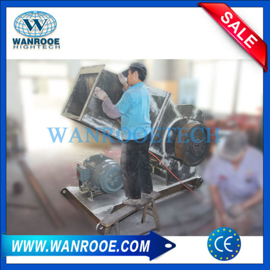 Plastic Recycling Crusher Machine for PVC Pipe Profile Sheet pictures & photos