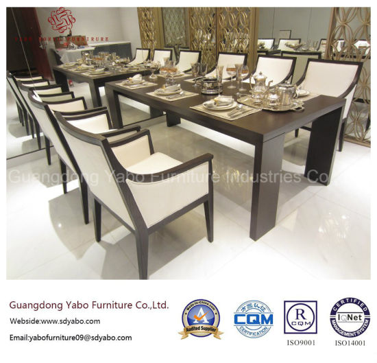 Simplify Wood Dining Room Furniture Sets for Star Hotel (W-M-06)