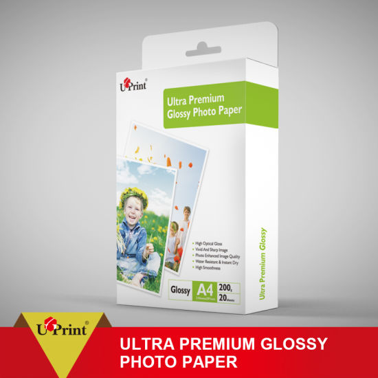 China High Glossy Photo Paper for Epson/Canon Inkjet Printer