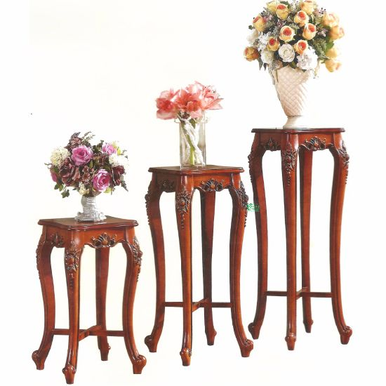 Optional Color Wood Flower Stand Cabinets From China Furniture Factory