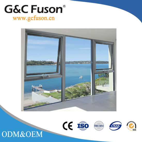 Guangzhou China Factory Manufacturing And Sale Aluminum Frame Glass Awning Window For Used