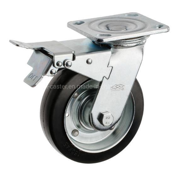 100mm Swivel Locking Heavy Duty Caster Wheel (P701-11F100X45S)