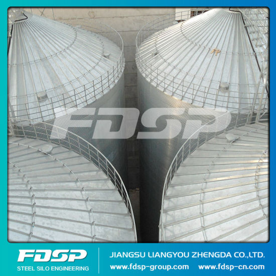 Long Work Life Stainless Steel Silo 10000 Ton Grain Silo pictures & photos