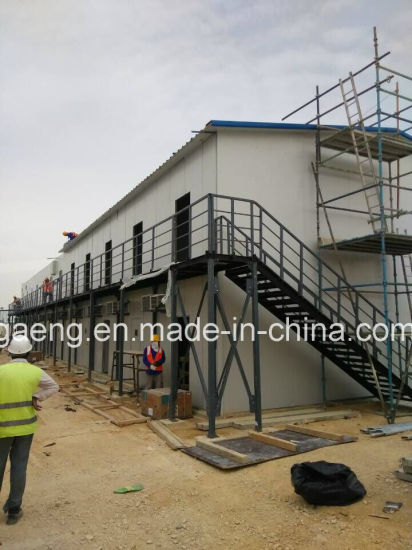 Modular Prefabricated Mobile Light Steel Structure Demountable Camp