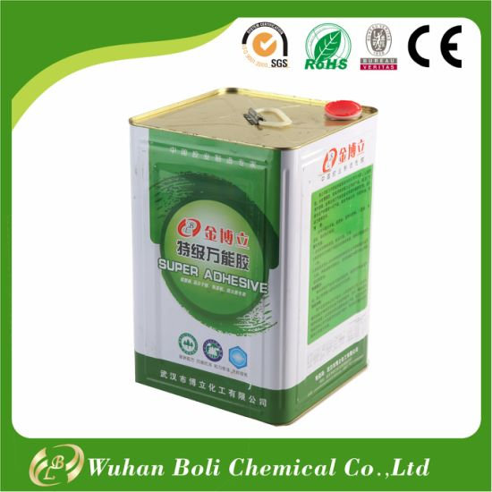 China Super Glue Contact Adhesive For Wood Metal Foam Leather