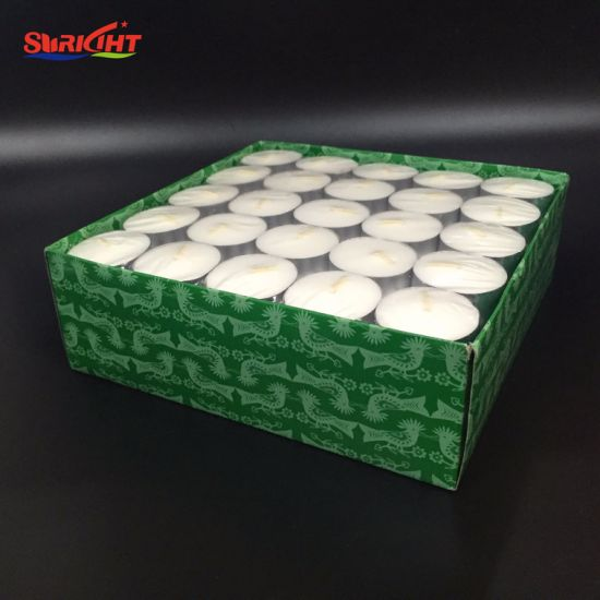 23G Individual Pack Soy Wax Tea Light Candle for Cosmetics