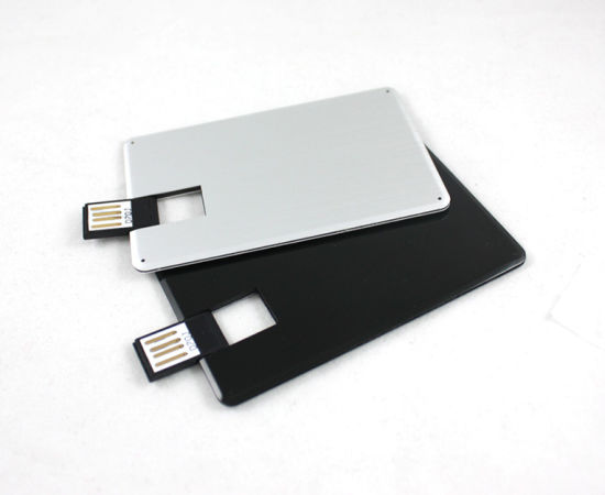Metal Credit Card USB Flash Drive 4GB Waterproof High Quality pictures & photos