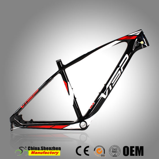 China Light-Paint Superlight carbon Mountian Bicycle Frame 26.5er ...