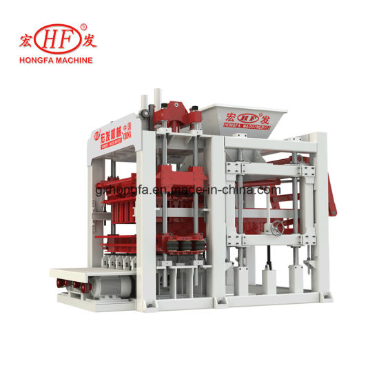 Qt12-15f Fully Automatic Concrete Brick Making Machine with Best Guality pictures & photos