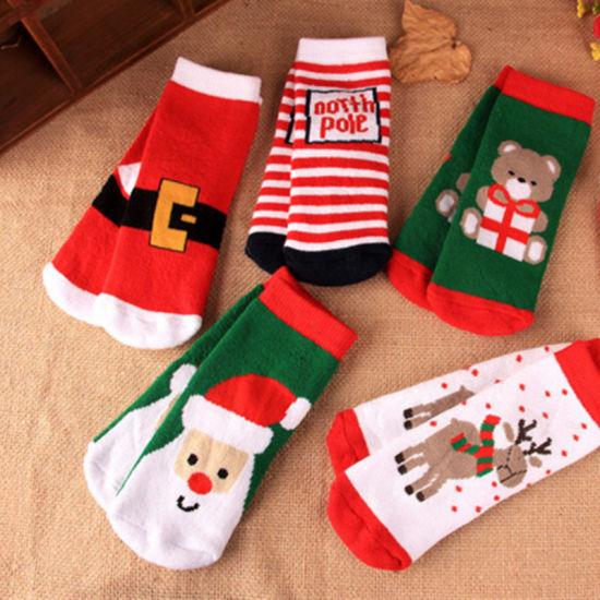 kids stockings happy socks funny kids christmas socks - Funny Christmas Socks