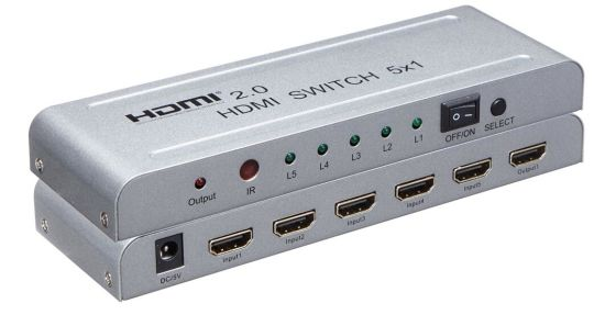 4K HDMI V2.0 Switch 5X1 pictures & photos