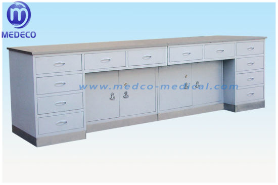 Medical Equipment Composite Working Table with Stainless Steel Surface Base E1 pictures & photos