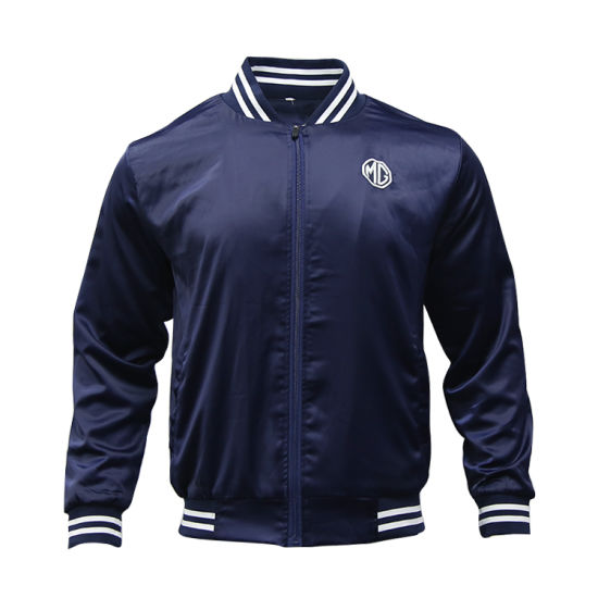 Customized Sublimation Sportswear Zipper Men Sport Tracksuit Custom Baseball Jacket