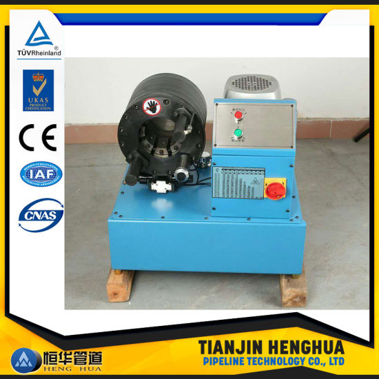 China Hot Sale Finn-Power Design Hose Crimping with Big