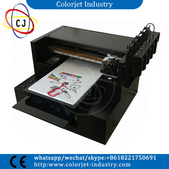 8 Colors Multifunction A3 Size DTG Printer T Shirt Printing Machine Prices Flatbed
