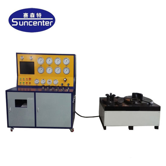 Suncenter Max 600 Bar Pressure Safety Relief Valve Test Bench
