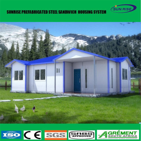 Wonderful Low Cost Light Steel Structure Prefab Flat Pack Office Container House