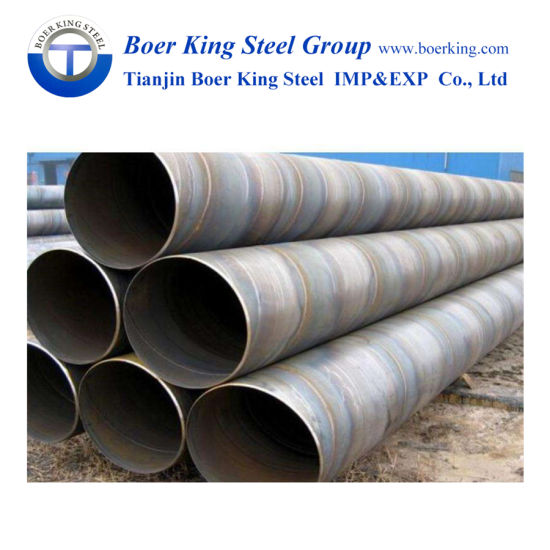 ASTM A252 ASTM A500 Spiral Welded Pipe, spiral Pile Pipe, Spiral Steel Tube Used for Construction