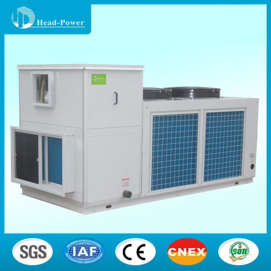 China 10 Ton Home Rooftop Central Duct Air Conditioner
