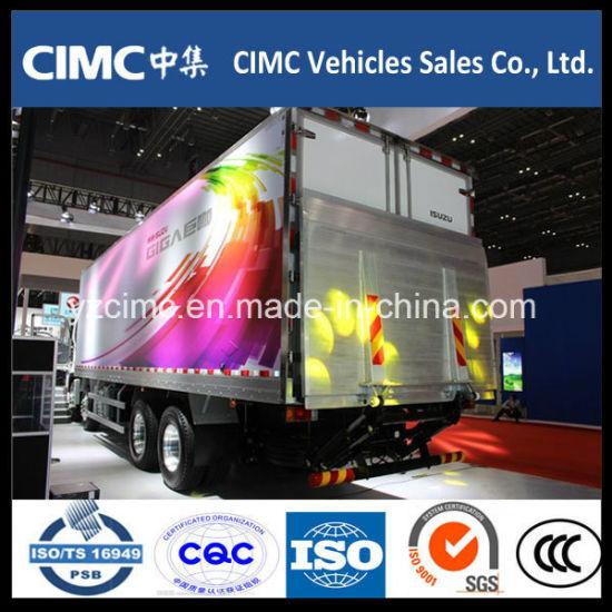 China New Isuzu Giga Vc61 8X4 460 HP Van Cargo Truck Euro5
