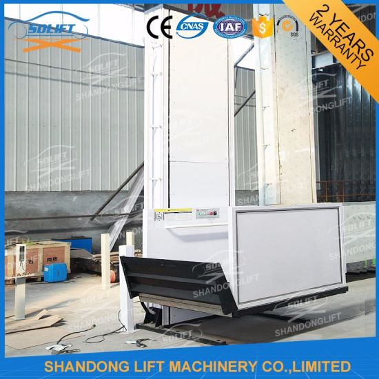 Vertical Wheelchair Lift for Disabled People with 250kg Capacity pictures & photos