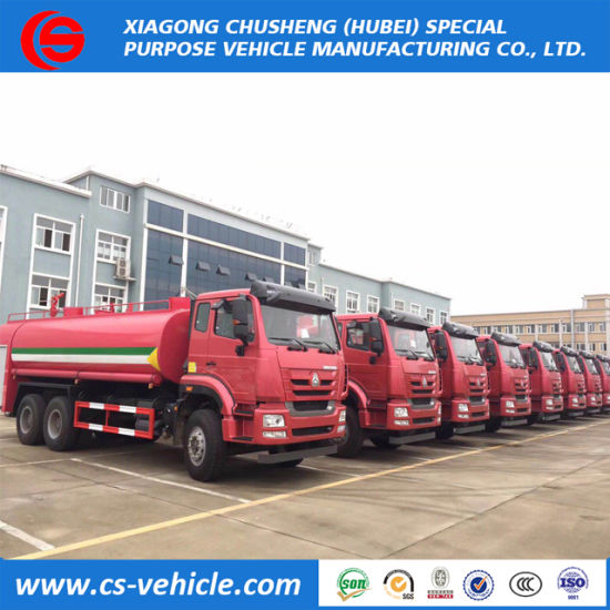Dongfeng 4X2 6 Wheels Water Tank Fire Fighting Truck 6000 Liters