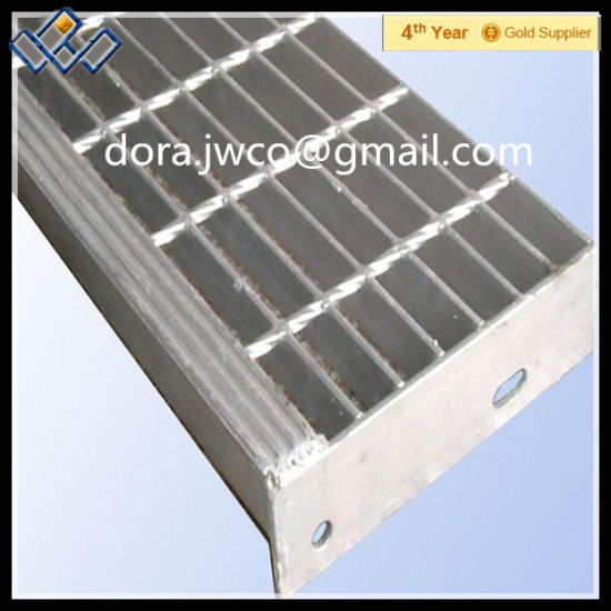 ISO9001direct Factory Galvanized Steel Stair Treads Grating Metal Stair  Treads