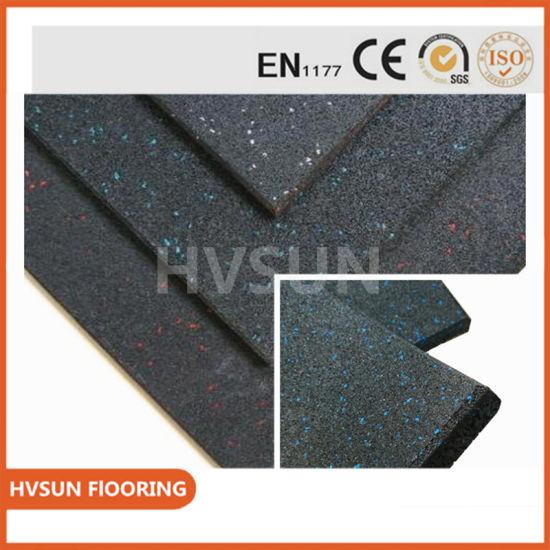 China Natural Rubber Sheet SBR NBR Cr EPDM Rubber Flooring
