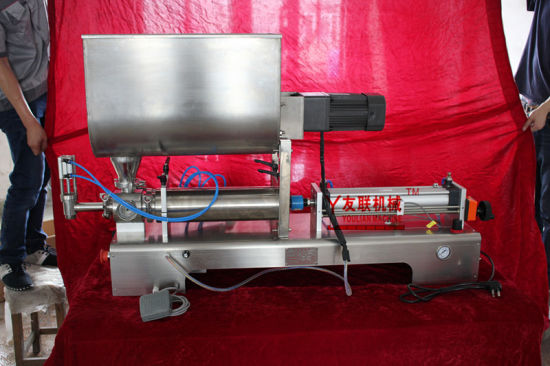 Semi-Automatic One Heads Ointment/Paste/Cream/Sauce and Liquid 50-500ml Filling Machine (G1WGD) pictures & photos