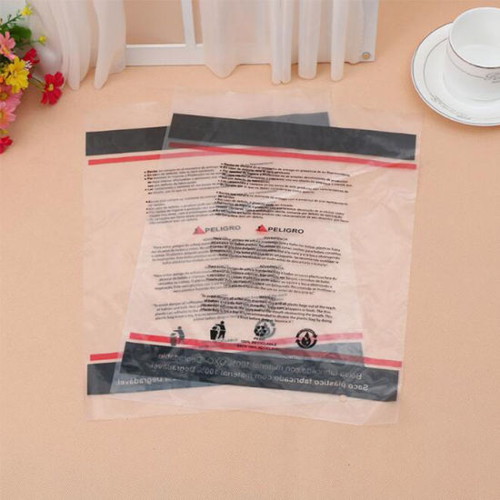 China high quality custom size and design ldpe beautiful hand cloth high quality custom size and design ldpe beautiful hand cloth bag ldpe plastic bag for cloth m4hsunfo