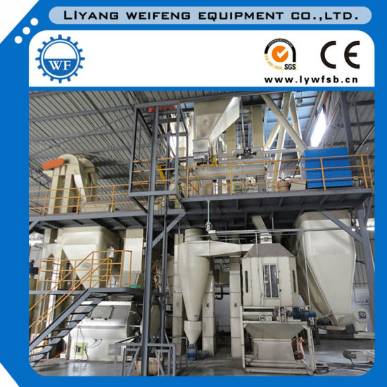 1-3t/H Live Stock Feed Production Line/Feed Plant Supplier in China pictures & photos