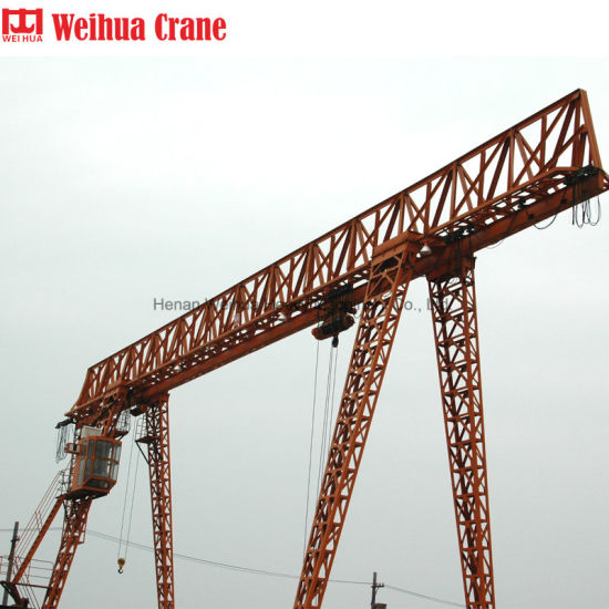 Weihua Single Girder Mobile Portal Gantry Crane 1 Ton